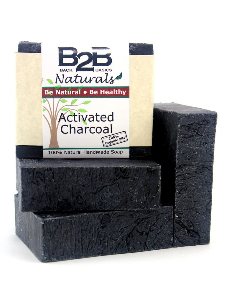 A crisp, clean, minty scent permeates this luxurious bar.  It has a generous amount of Activated Charcoal to exfoliate, absorb impurities, and purify the skin.  In addition, it contains pure essential oils widely known for their antibacterial and skin healing properties.  A favorite for those with oily and acne prone skin.  Made with 100% Organic base oils.
