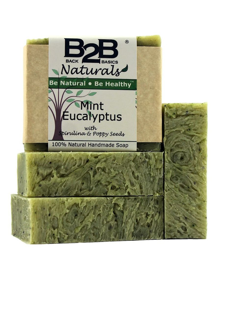 This pretty, light green bar with added Shea Butter gently cleans, moisturizes, and deodorizes while refreshing your senses. It has a bright and lively scent that is sure to energize you in the morning. Scented with an all-natural essential oil blend.