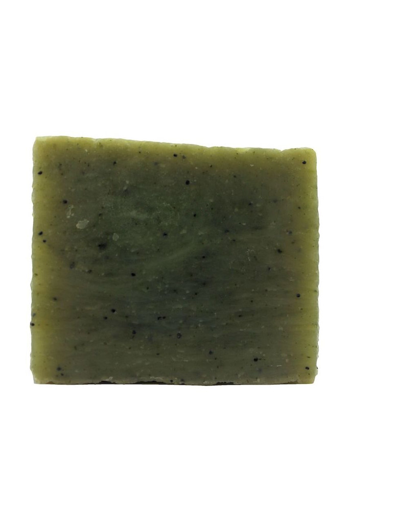B2B Naturals® Mint Eucalyptus Soap with Spirulina and Poppy Seeds. A refreshing treat for your skin!