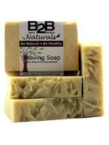 This all-natural, non-drying shaving soap has a rich, creamy, moisturizing lather with a superior slip and glide for a close, smooth shave.  We super-enrich it with both Shea and Cocoa Butters to put an end to razor-burn and that dry, itchy skin you so often get after shaving.  Scented with pure essential oils for a bright, herbal-mint fragrance that is perfect for both men and women.