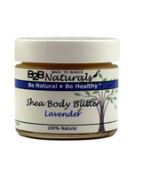 B2B Naturals® Lavender Shea Body Butter is the crème de la crème when it comes to rich, luxurious, moisture to nourish and condition your skin.