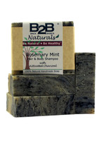 Perfect for normal to oily hair! This premium, all-natural, hair and body shampoo bar has loads of fluffy lather to gently clean without stripping away your hair's natural, protective oils. A generous amount of Shea Butter in our recipe leaves your hair soft and shiny while a rich swirl of Activated Charcoal balances oils in your skin, removes toxins, and adds volume to your hair.