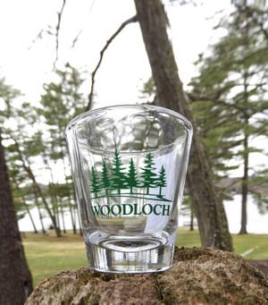 Woodloch Clear Shot Glass