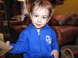 Me & Woodloch For Life Infant Sweatshirt - Blue