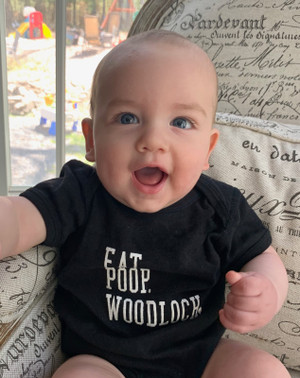Eat Poop Woodloch Infant Onesie