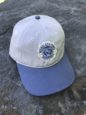 Woodloch Pines Crest Patch Cap - Pelican & Marine