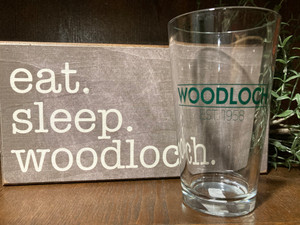 Woodloch 16 oz. Pint Glass