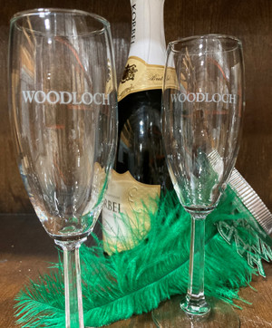 Woodloch Champagne Glasses
