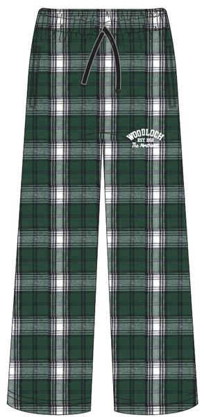 Boxercraft Green & White Plaid Pajama Bottoms