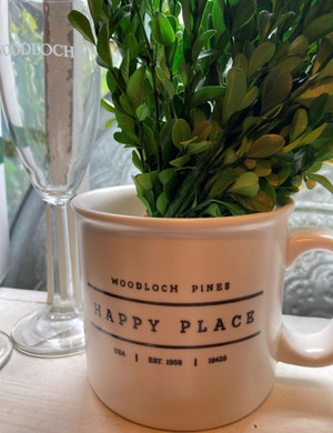 Woodloch Happy Place Chunky Mug