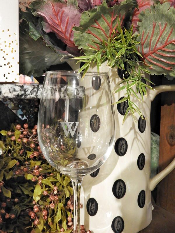 Woodloch Wine Glass