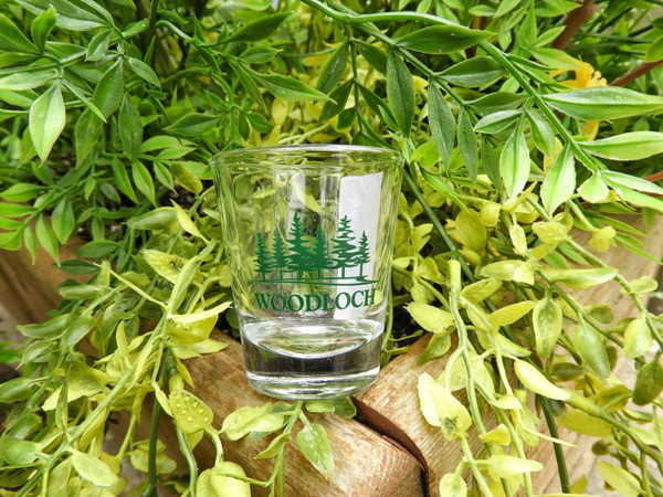 Woodloch Clear Shot Glass