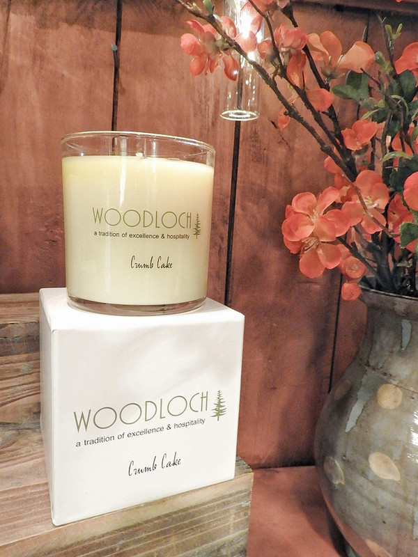 Woodloch 12 oz. Crumb Cake Soy Candle