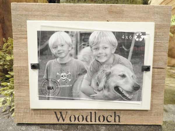 4x6 Reclaimed Wood Picture Frame