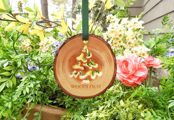 Ornament - Pine Tree Cut Out Wood