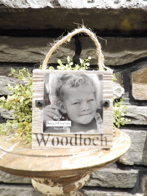 Ornament / Picture Frame Reclaimed Wood