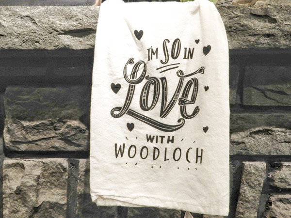 Woodloch Flour Sack Hand Towel - So In Love