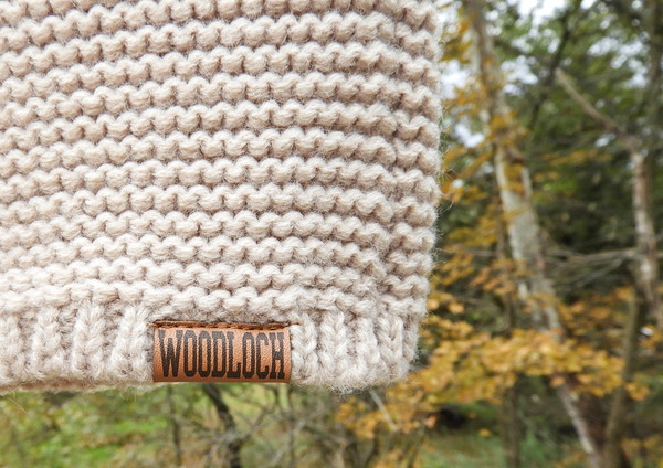 Ladies Woodloch Knit Hat - Stone
