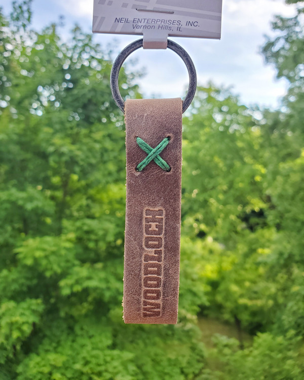 Woodloch Leather Key Fob