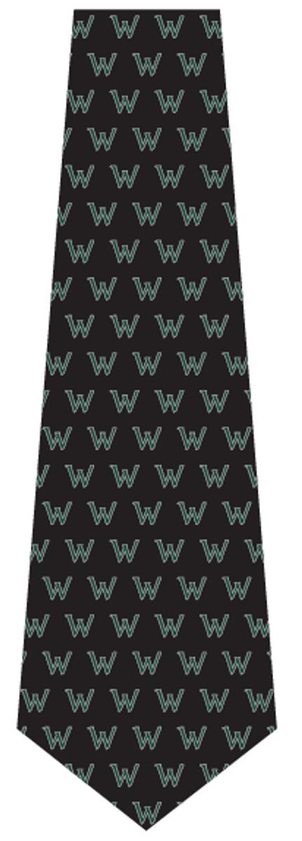 """Woodloch """"W"""" Woven Tie"""