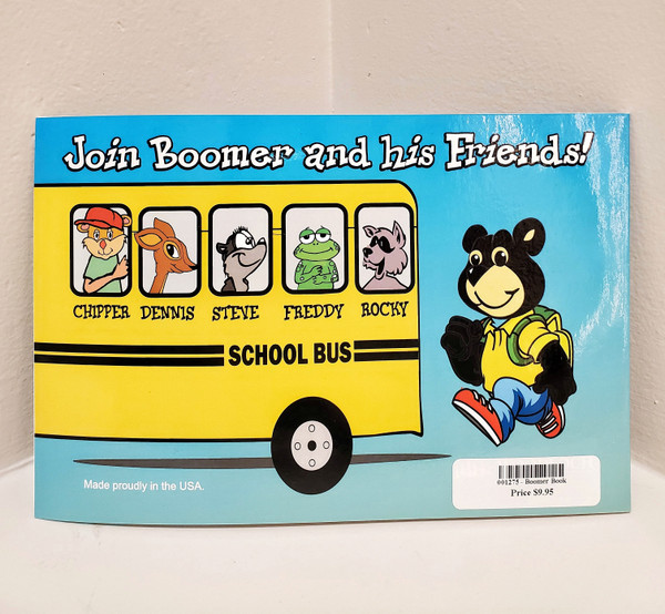Boomer's 1st Day of School Book