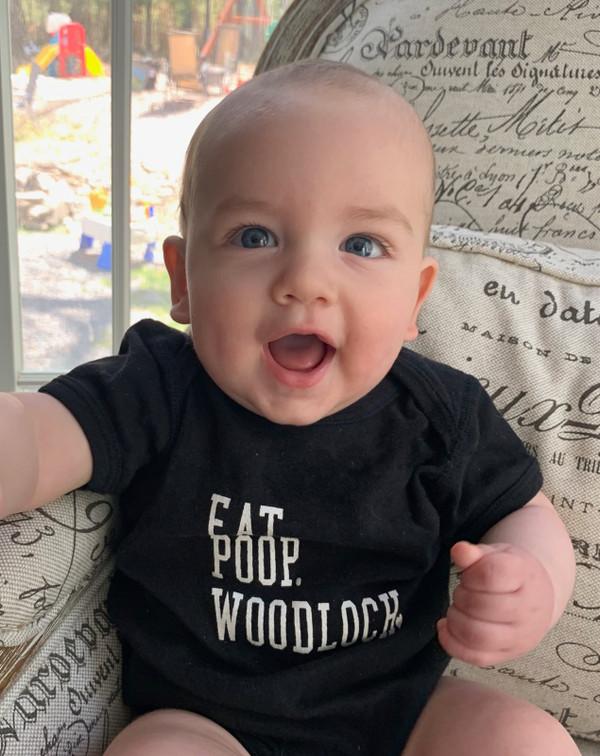 Eat Poop Woodloch Infant Onesie