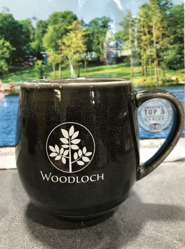Woodloch 18 oz. Stoneware Mug - Black