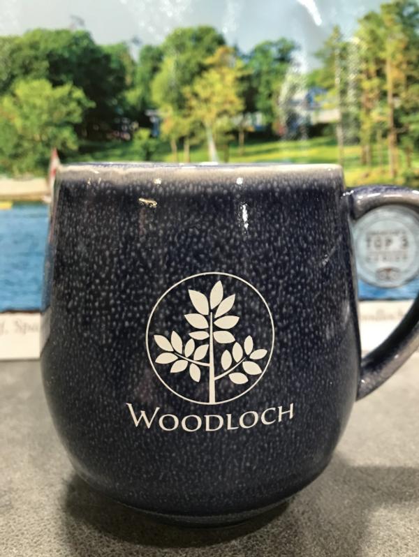 Woodloch 18 oz. Stoneware Mug - Navy