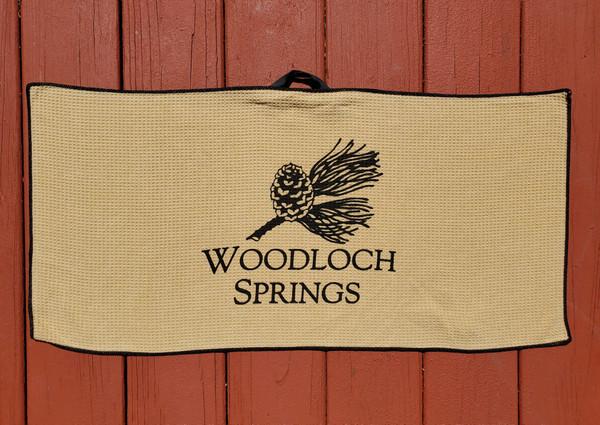 Woodloch Springs Logo Golf Towel