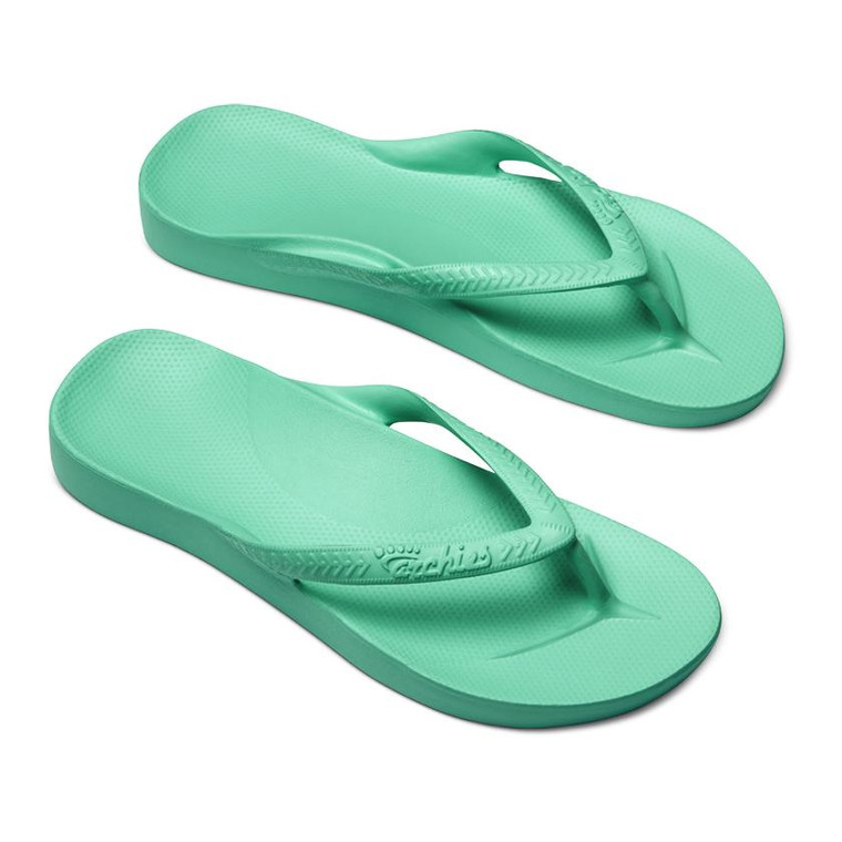 Archies Arch Support Jandals Mint