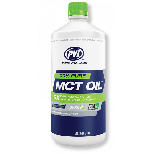 PVL 6x Extra Purified 100% Pure MCT Oil