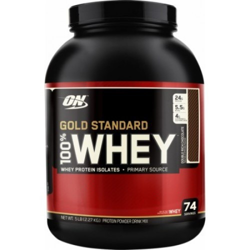 Optimum Nutrition 100% Gold Standard Whey Protein 5LB