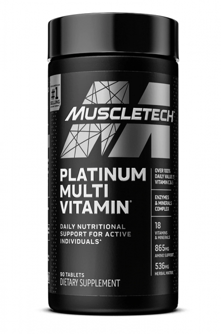 MuscleTech Platinum Multi Vitamin 90 Tablets