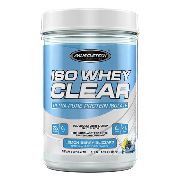 Muscletech IsoWhey Clear - Fruity/Juice Like Mix-ability