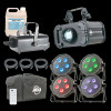ADJ Holiday Home Snow and Lighting Package