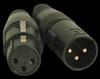 Accu Cable 3 Pin Male & Female XLR Connectors - ACXLR3PSET