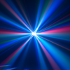 Eliminator Lighting Katana LED RGBW Moonflower DJ Light