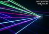 X-Laser Skywriter HPX 2W Full Color Laser Projector / ILDA