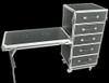 OmniSistem 5 Drawer Flight Case w/ Workbench / Folding Table