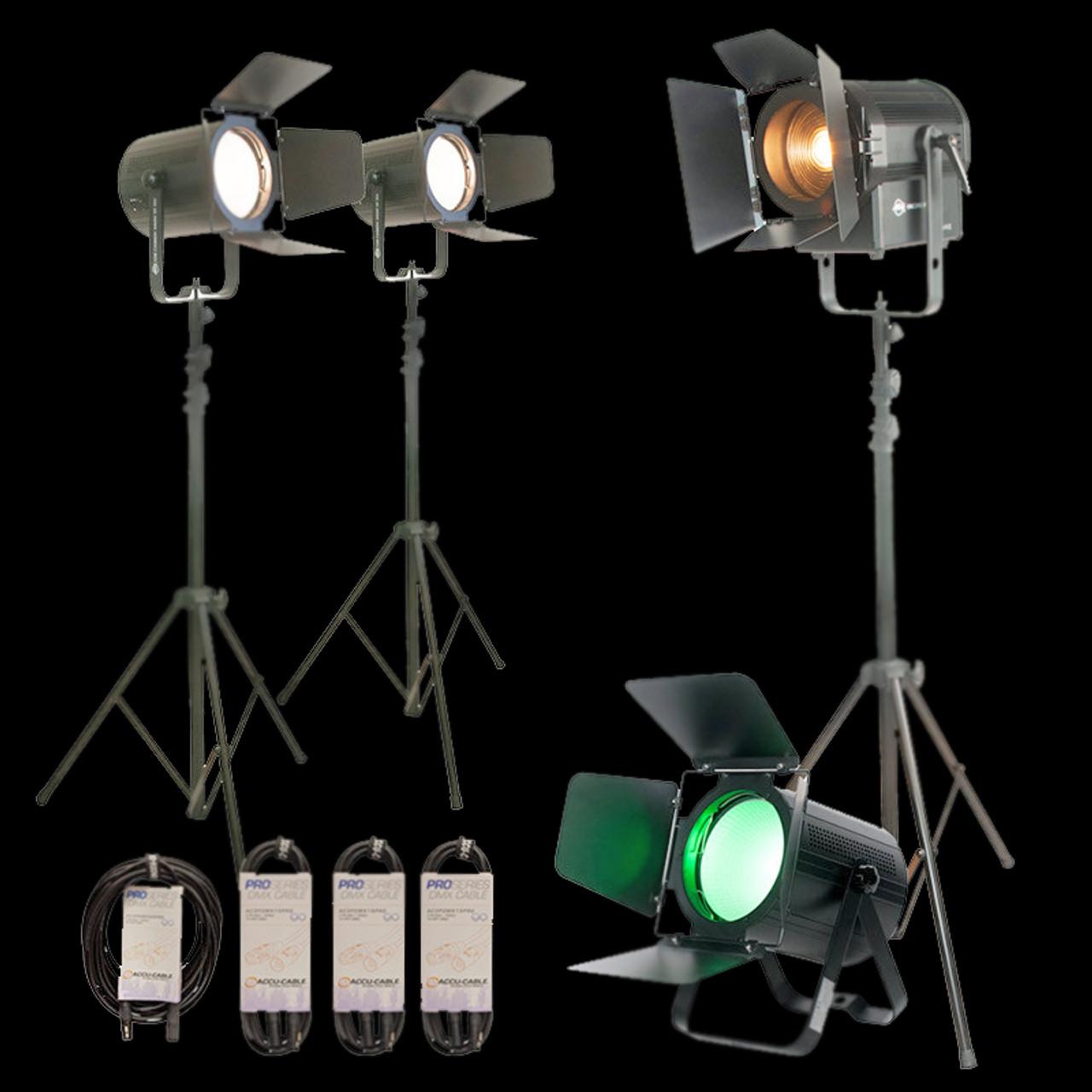 ADJ Variable White Stream Pak / Production Lighting Package