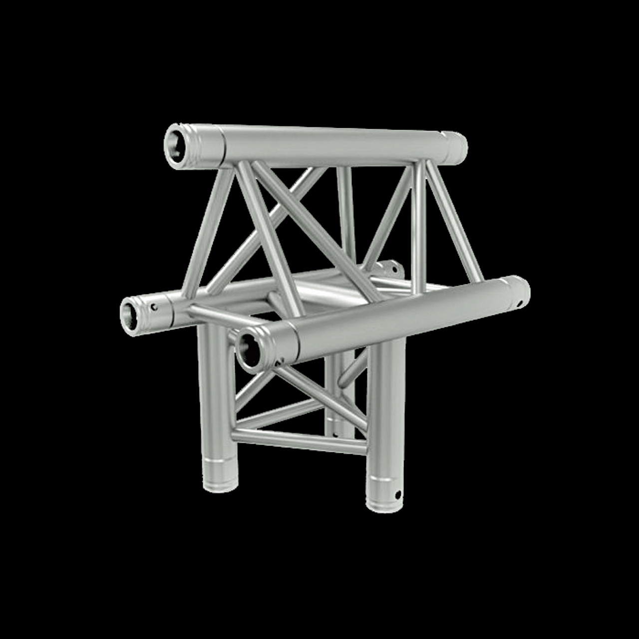 "Global Truss F33 12"" 3-Way Horzontal T-Junction - Apex Out"