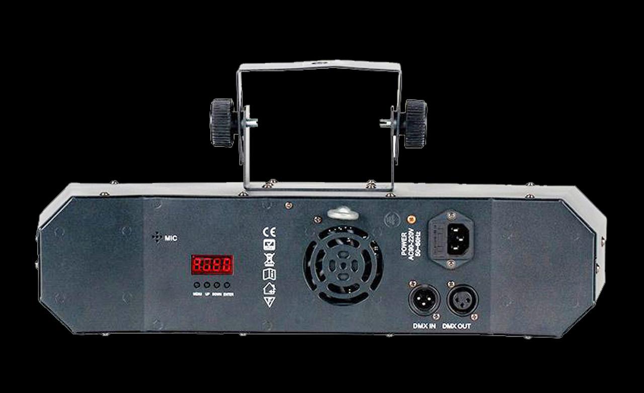 Eliminator Lighting Furious Five RG Sound Active DJ Light