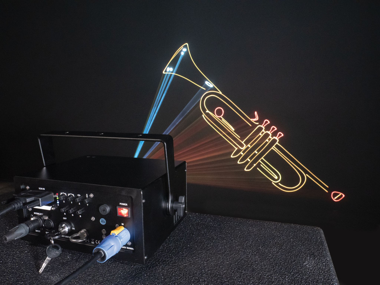 Unity Lasers ELITE 3 PRO FB4 Laser Light Show Projector