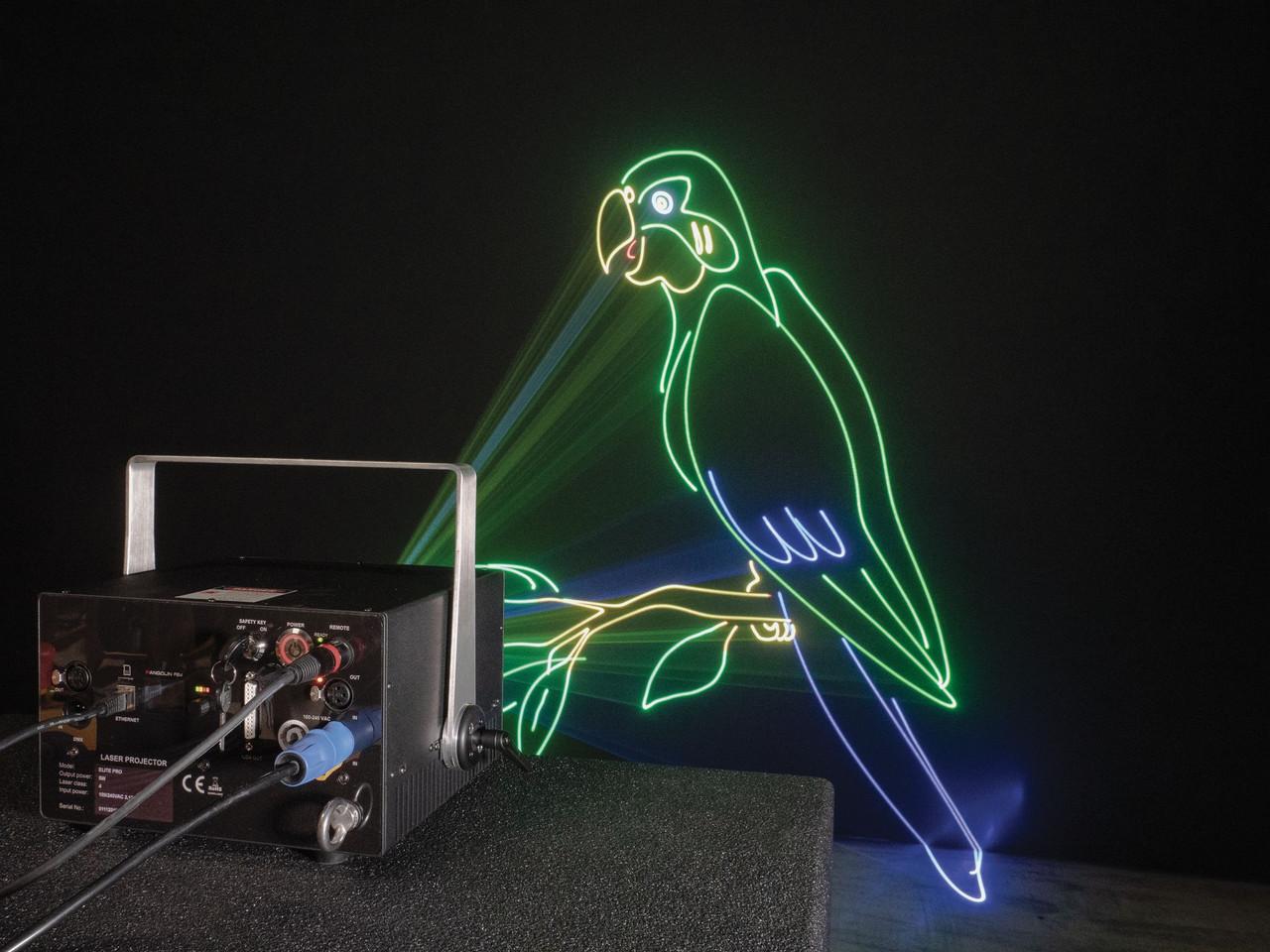 Unity Lasers ELITE 2 ILDA Laser Light Show Projector