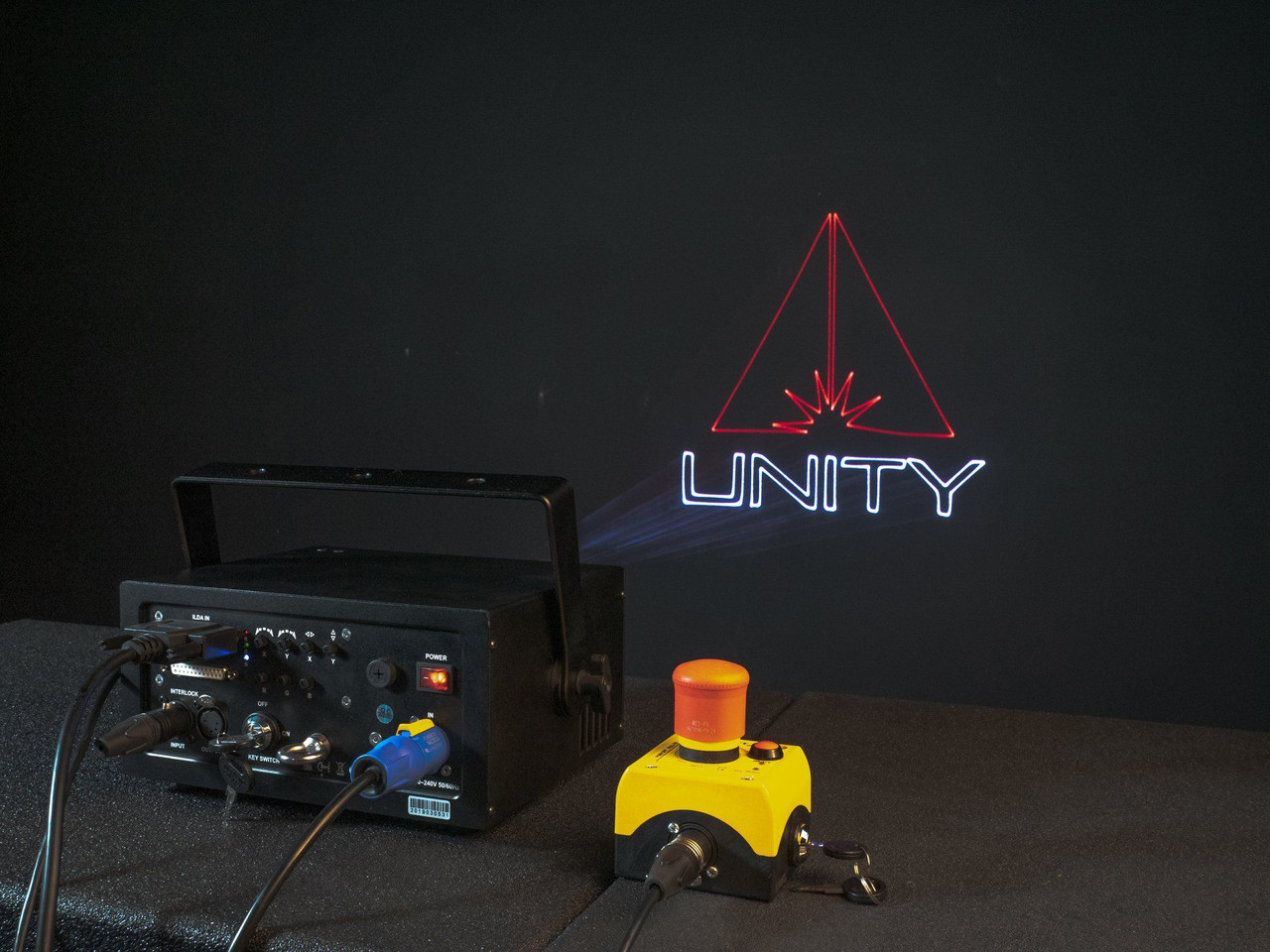 Unity Lasers ELITE 3 ILDA Laser Light Show Projector