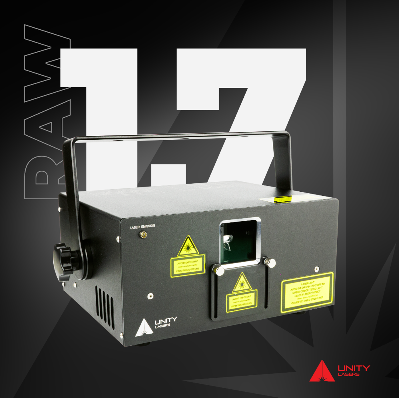 Unity Lasers RAW 1.7 Laser Projector