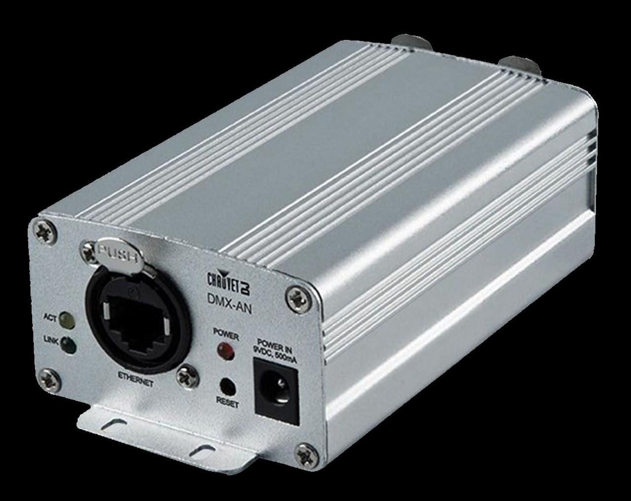 Chauvet DJ DMXAN2 Art-Net/sACN Node / 1 Ethernet / 2 DMX Universes