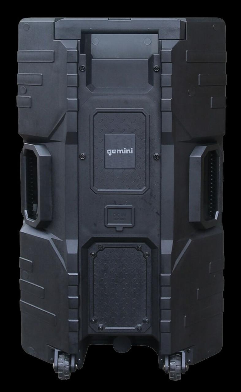 Gemini GSW-T1500PK IPX4 PA Speaker w/ Stand / Microhone / BT / Splashproof