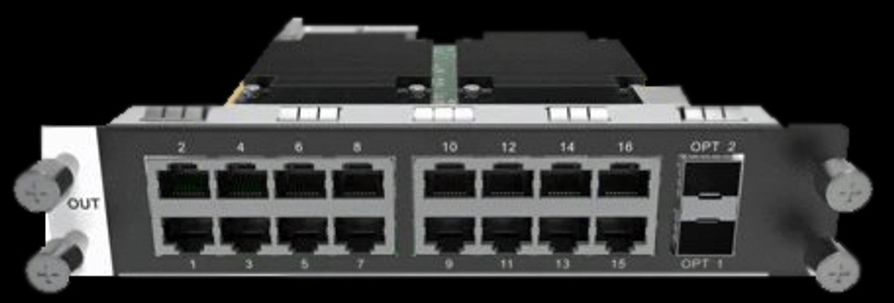 NovaStar H_16xRJ45+2xFiber / H Series 16x Ethernet Output Port and 2x Optical Ports