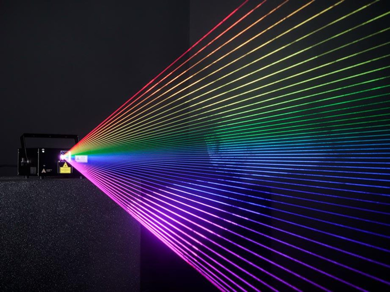 Unity RAW 5 Laser Light Show Projector